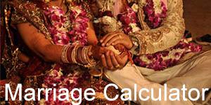 Marriage Calculator