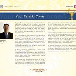 Tarakki Times August SMFS Feature